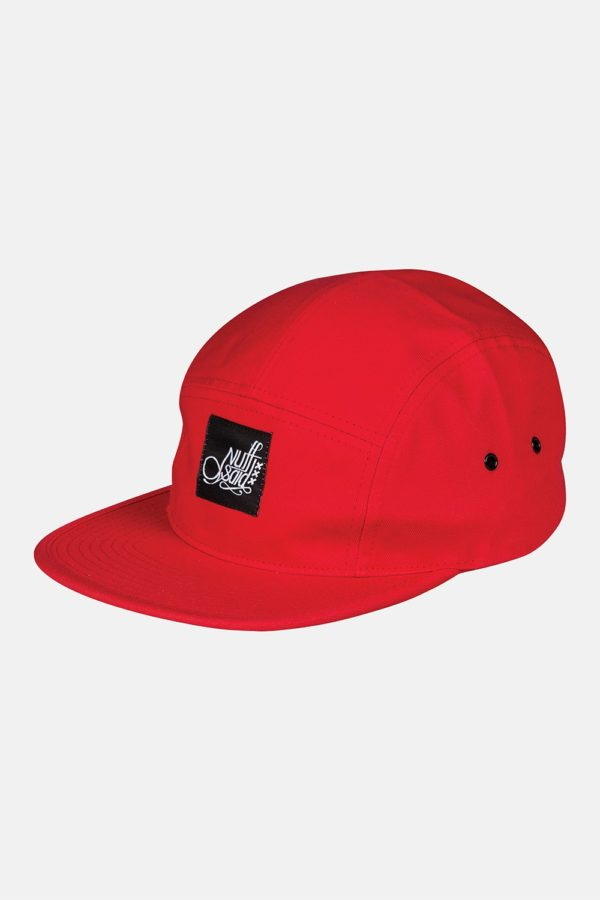 5-panel red